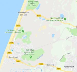 Northsea and beach Zandvoort - H2slOw